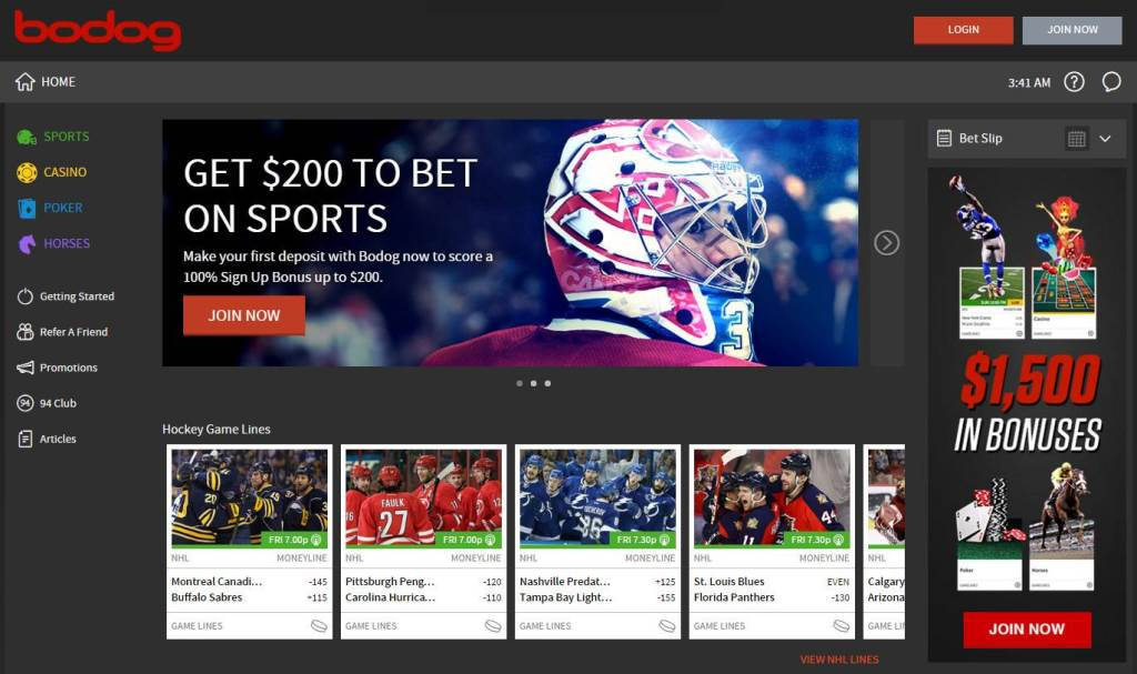Bodog live betting ipad online sports betting us customers